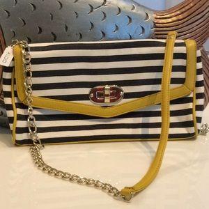 Striped Aldo bag